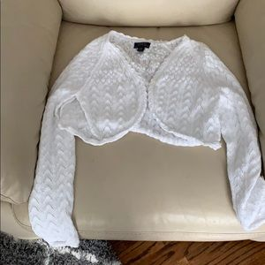 Polo Ralph Lauren cropped cardigan large sz 12-14